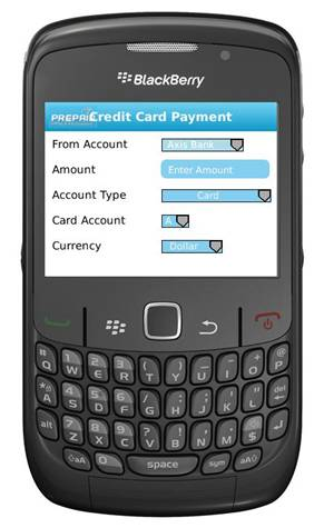 Blackberry Mobile Money Transfer